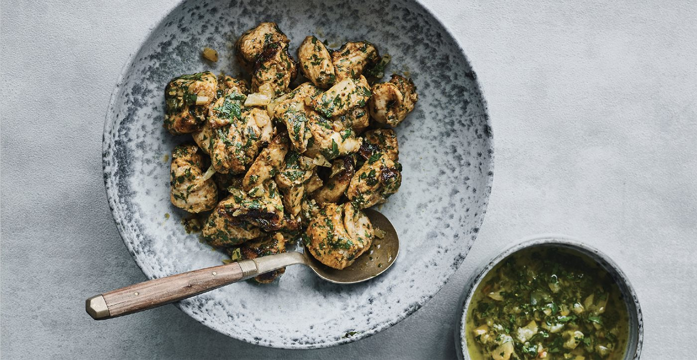 Flavors: Chicken with Charmoula