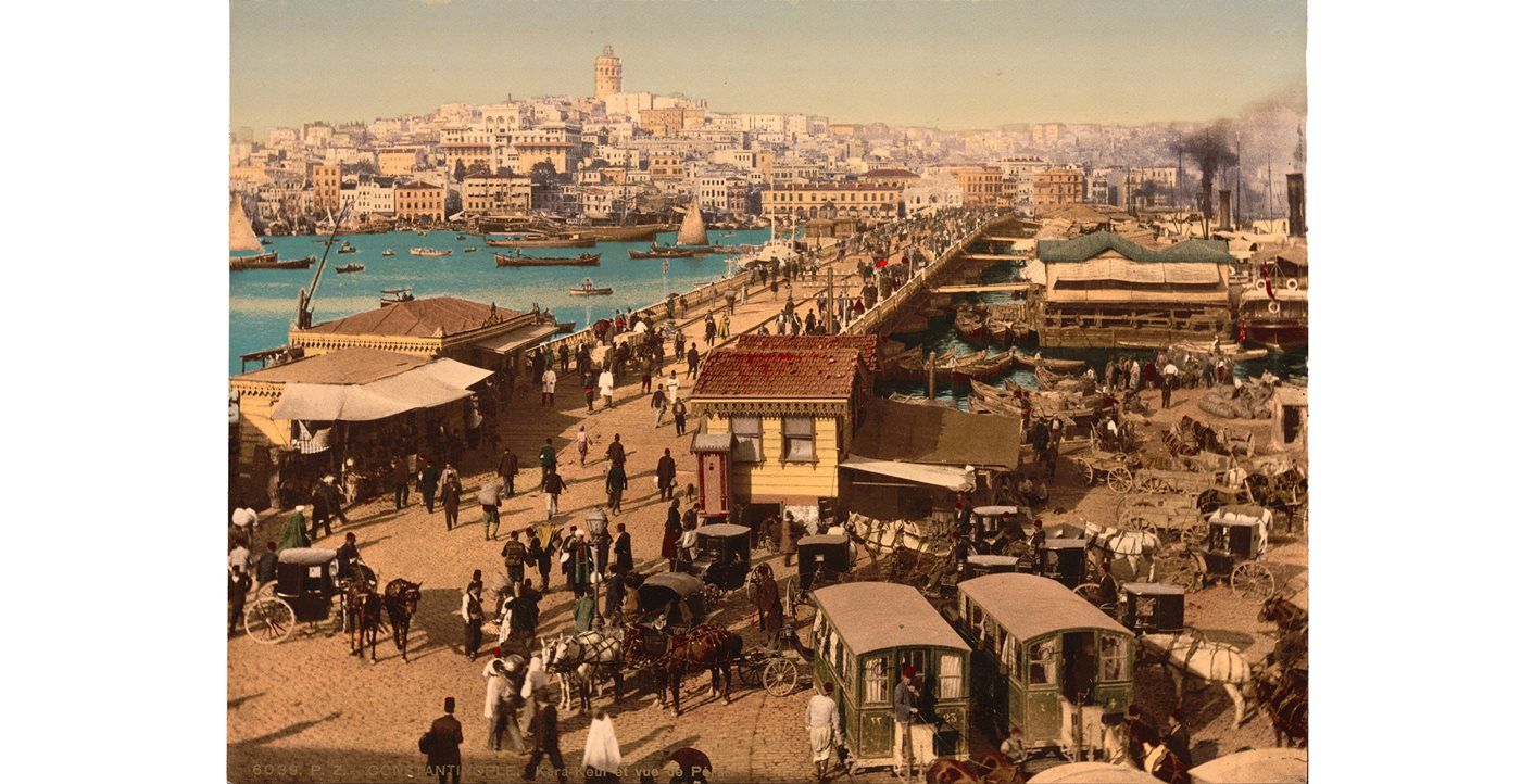 FirstLook: Galata Bridge, circa 1890