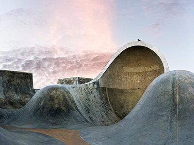 Amir Zaki's Sculpture of Skateparks
