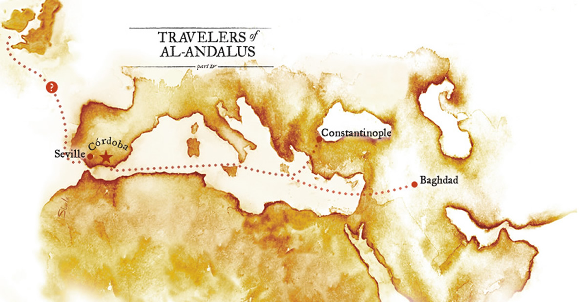 Travelers of Al-Andalus, Part IV: al-Ghazal: From Constantinople to the Land of the Vikings