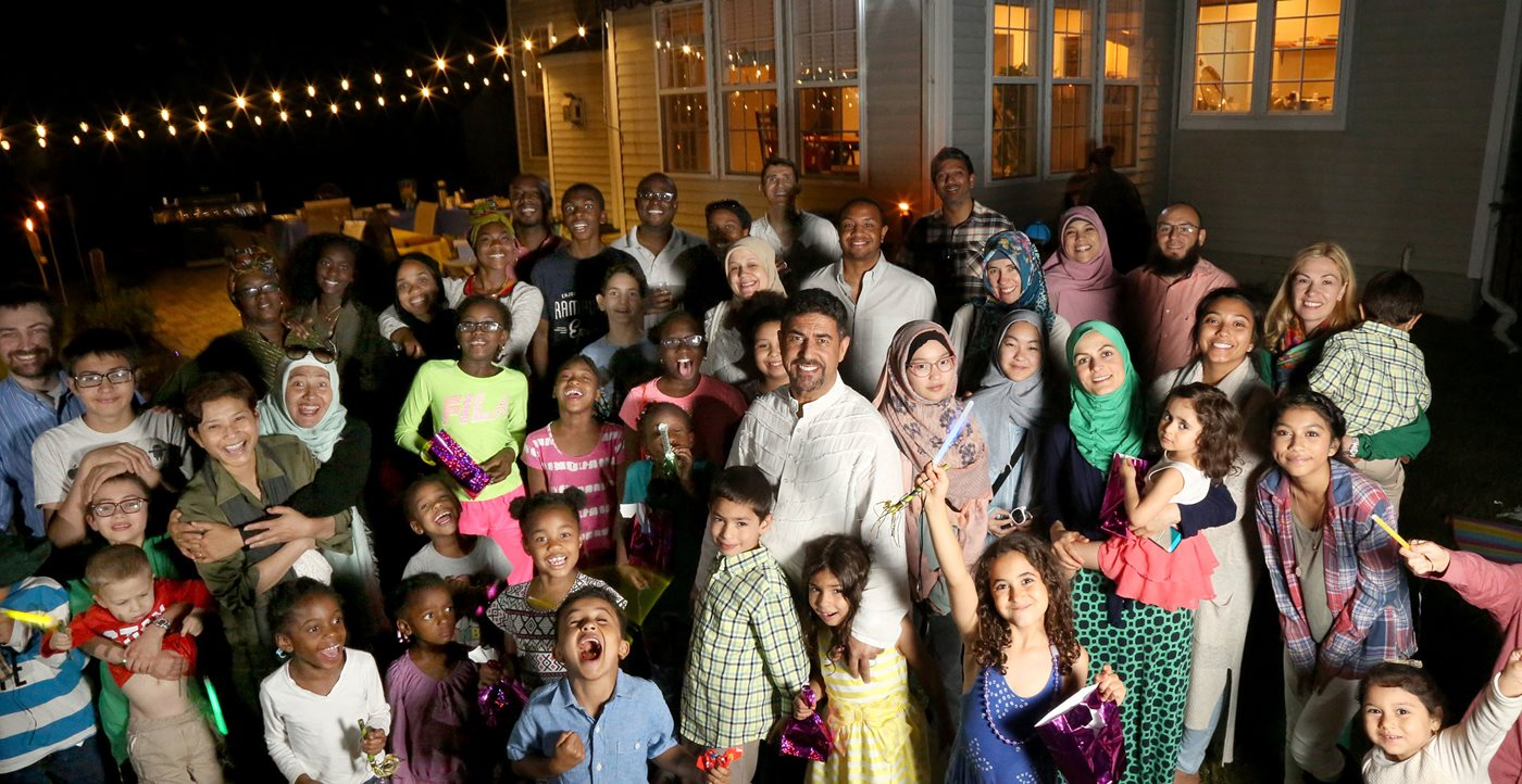 Iftar Potluck Baltimore - AramcoWorld