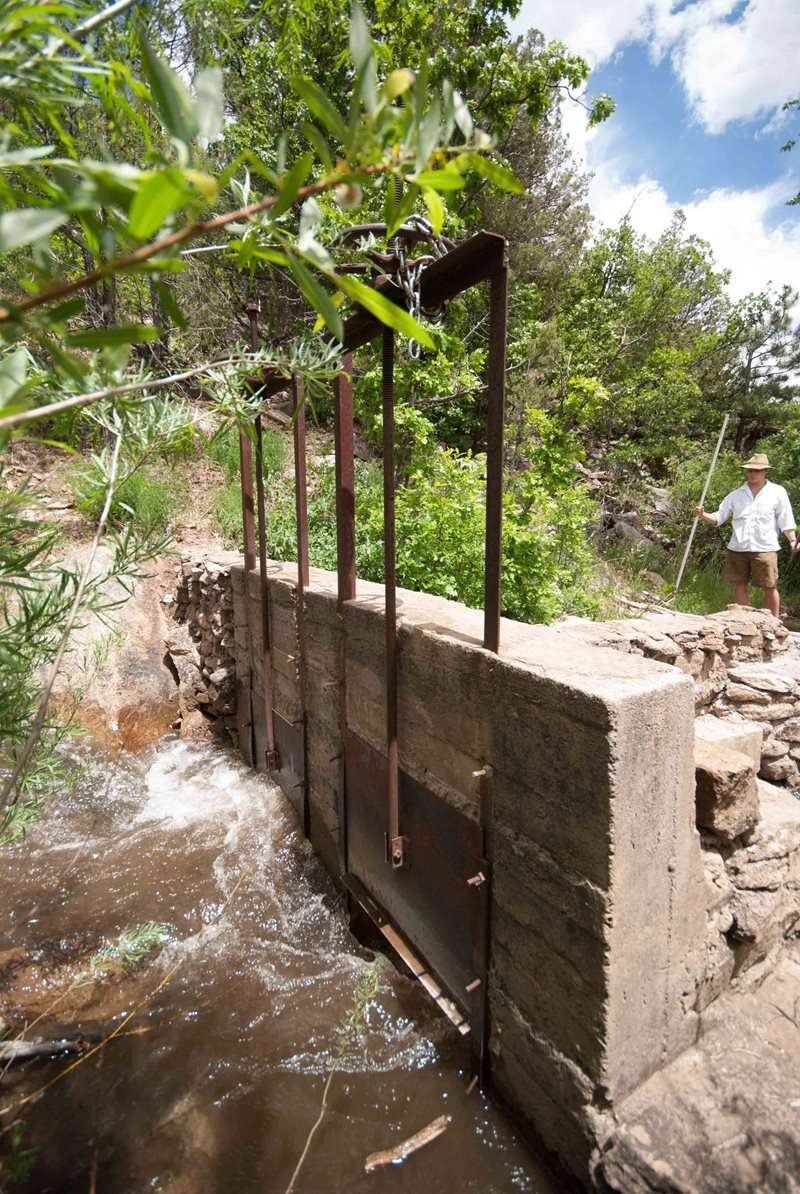 How The Middle Eastern Irrigation Ditch Called Acequia